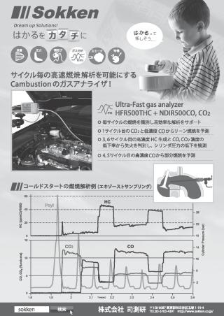 高速HC計HFR500&高速CO,CO2計NDIR500