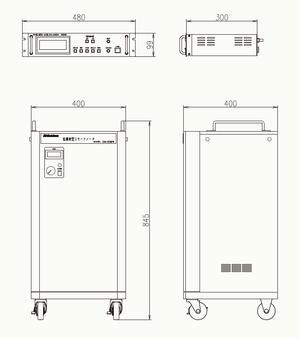 GSM22外観図